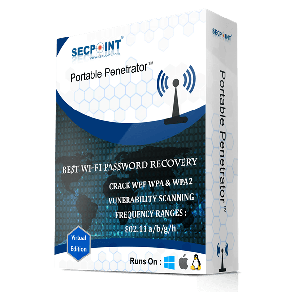 SecPoint Portable Penetrator - LIGHT 1 Year License WiFi