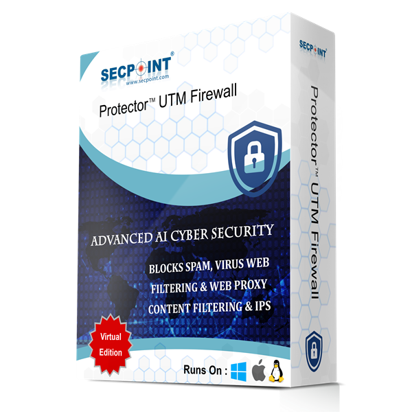 SecPoint Protector P9 - 10 Users Network Firewall  (1 Year License)